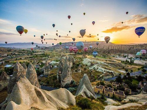 Kapadokya Turu Cuma Akşamı Hareket 1 gece Otel Konaklamalı